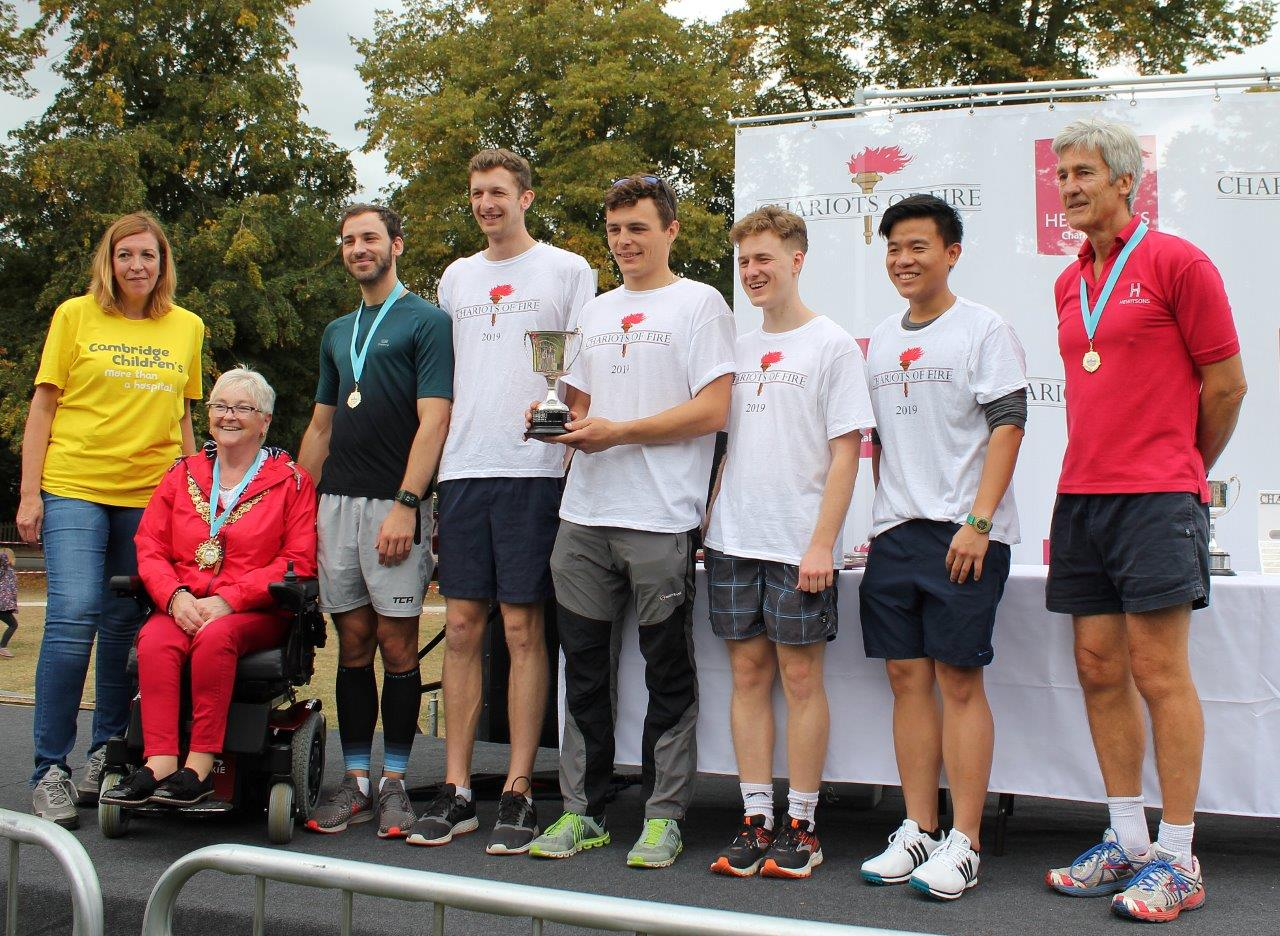 Fastest College - Darwin College - Chariots of Fire 2019