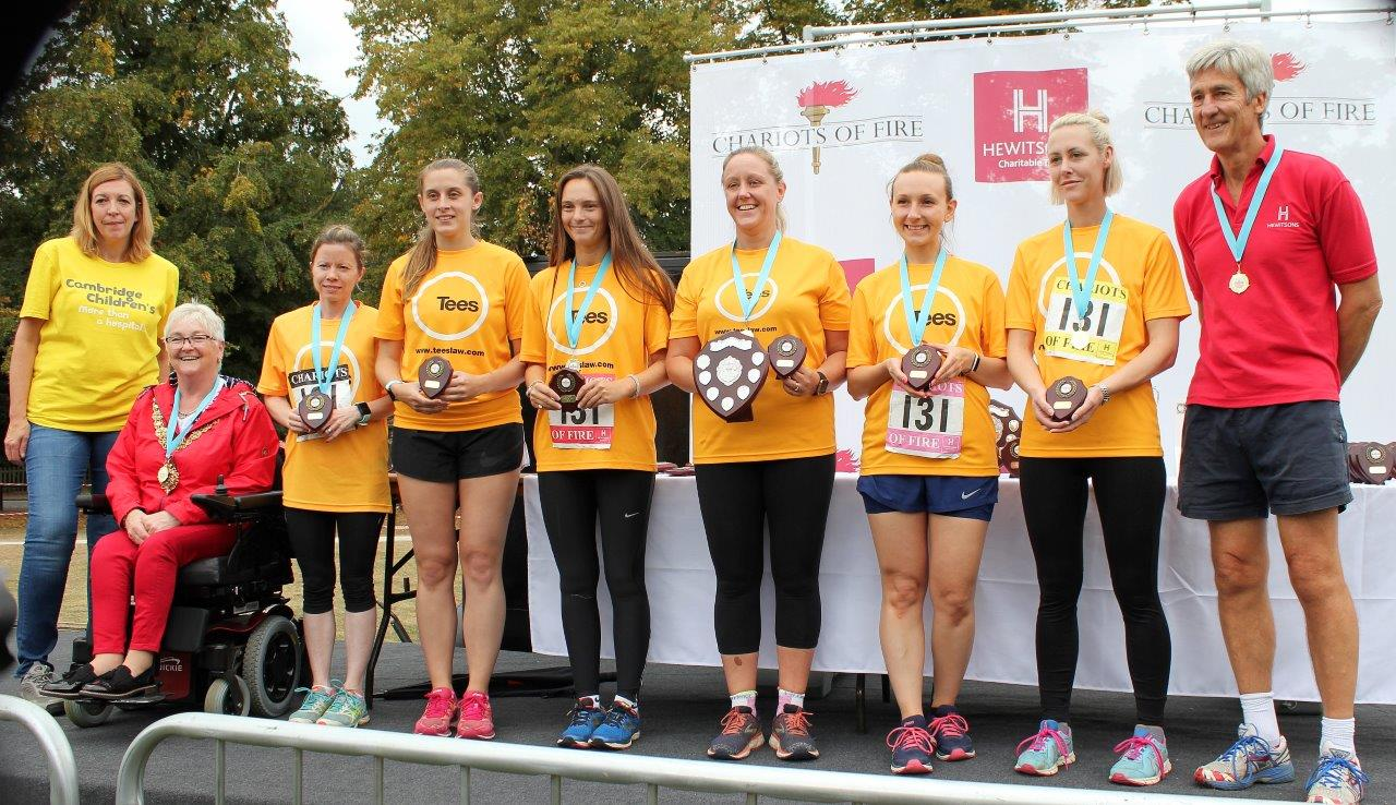 Fastest Female - Tee's Ladies - Chariots of Fire 2019