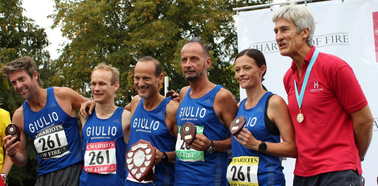 Fastest Veteran Male - Guilio's - Chariots of Fire 2019