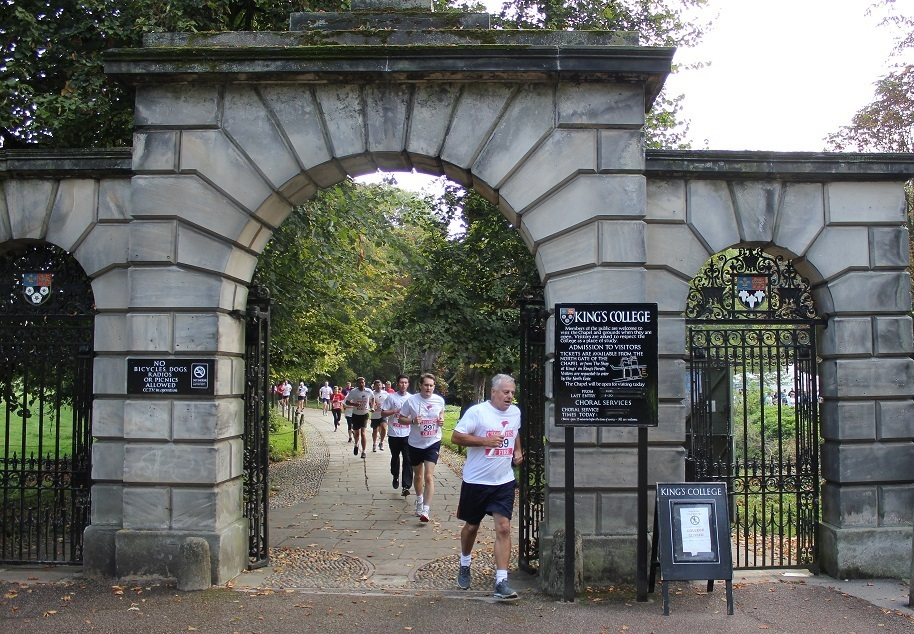 Kings College during Chariots of Fire